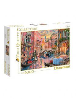 CLEMENTONI -  COUCHER DU SOLEIL À VENISE (6000 PIÈCES)