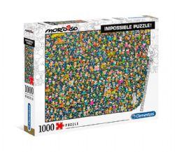 CLEMENTONI -  IMPOSSIBLE PUZZLE (1000 PIÈCES) -  MORDILLO