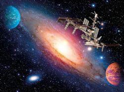 CLEMENTONI -  INTERNATIONAL SPACE (500 PIÈCES)