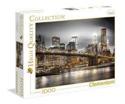 CLEMENTONI -  L'HORIZON DE NEW YORK (1000 PIÈCES)
