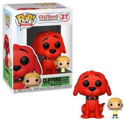 CLIFFORD THE BIG RED DOG -  FIGURINE POP! EN VINYLE DE CLIFFORD AVEC EMILY (10 CM) 27