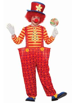 CLOWN -  COSTUME DE HOOPIE LE CLOWN (ENFANT)