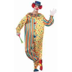 CLOWN -  COSTUME DE SPOTS LE CLOWN (ADULTE)