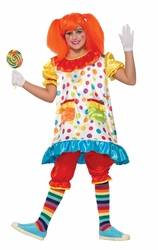 CLOWN -  COSTUME DE WIGGLES LE CLOWN (ENFANT)