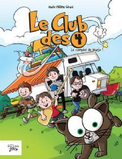 CLUB DES 4, LE -  LE COMPLOT DE MARJO! 01