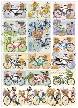 COBBLE HILL -  BICYCLE (1000 PIÈCES)