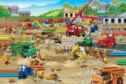 COBBLE HILL -  ZONE DE CONSTRUCTION (36 PIÈCES) -  FLOOR PUZZLE