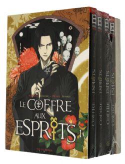 COFFRE AUX ESPRITS, LE -  MANGAS USAGÉS TOME 01 À 05