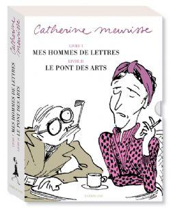 COFFRET CATHERINE MEURISSE -  MES HOMMES DE LETTRES ET LE PONT DES ARTS