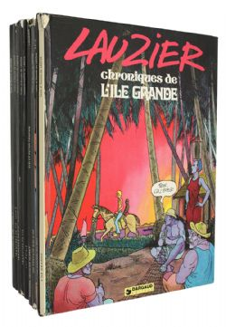 COLLECTION LAUZIER -  BD USAGÉS, 9 TOMES