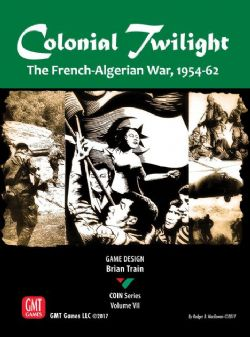 COLONIAL TWILIGHT: THE FRENCH-ALGERIEN WAR, 1954-62 (ANGLAIS)