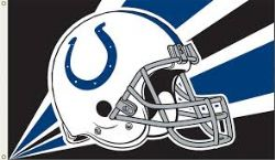 COLTS D'INDIANAPOLIS -  DRAPEAU HORIZONTAL 36