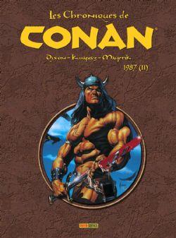 CONAN -  CHRONIQUES DE CONAN INTÉGRALE 1987 -02-