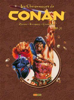 CONAN -  CHRONIQUES DE CONAN INTÉGRALE 1988 -01-