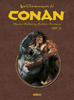 CONAN -  CHRONIQUES DE CONAN INTÉGRALE 1989 -01-