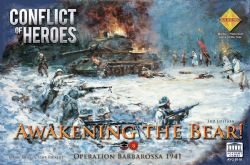 CONFLICT OF HEROES -  AWAKENING THE BEAR! OPERATION BARBAROSSA 1941 - THIRD EDITION (ANGLAIS)