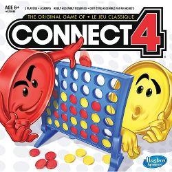 CONNECT 4 -  JEU DE CARTES (BILINGUE)