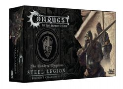 CONQUEST: THE LAST ARGUMENT OF KINGS -  STEEL LEGION -  THE HUNDRED KINGDOMS