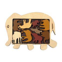 CONSTANTIN PUZZLES -  ELEPHANT PARADE (MULTILINGUE)