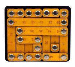 CONSTANTIN PUZZLES -  TOUGH MEASURES (MULTILINGUE)