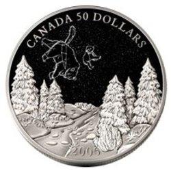 CONSTELLATIONS -  ETE - CONSTELLATIONS DE LA PETITE ET DE LA GRANDE OURSE -  PIÈCES DU CANADA 2006 02