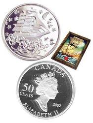 CONTES ET LÉGENDES -  LE VAISSEAU FANTÔME -  PIÈCES DU CANADA 2002 05