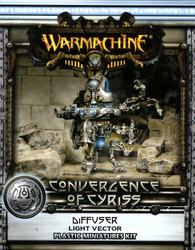 CONVERGENCE OF CYRISS -  DIFFUSER - LIGHT VECTOR (PLASTIC) -  WARMACHINE