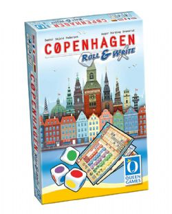 COPENHAGEN -  ROLL & WRITE (MULTILINGUE)