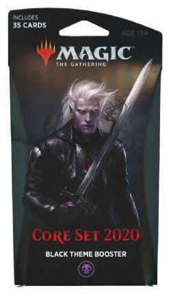 CORE SET 2020 -  BOOSTER THÉMATIQUE NOIR (35)