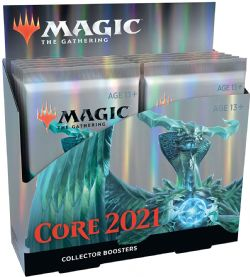 CORE SET 2021 -  COLLECTOR BOOSTER PACK (P15/B12/C24) (ANGLAIS)