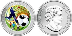 COUPE DU MONDE MASCULINE FIFA -  COUPE DU MONDE DE SOCCER DE LA FIFA -  PIÈCES DU CANADA 2014