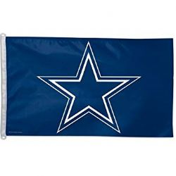 COWBOYS DE DALLAS -  DRAPEAU HORIZONTAL 36
