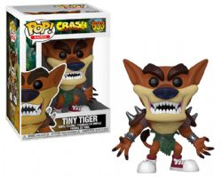 CRASH BANDICOOT -  FIGURINE POP! EN VINYLE DE TINY TIGER (10 CM) 533