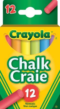 CRAYOLA -  12 CRAIES COLORÉES