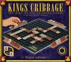 CRIBBAGE -  KINGS CRIBBAGE - EDITION ROYALE (BILINGUE)