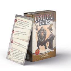 CRITICAL FAILS -  FOR GM & PLAYERS (ANGLAIS)