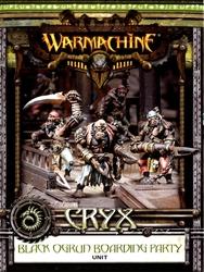 CRYX -  BLACK OGRUN BOARDING PARTY - UNIT -  WARMACHINE
