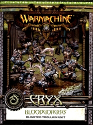 CRYX -  BLOODGORGERS - BLIGHTED TROLLKIN UNIT -  WARMACHINE