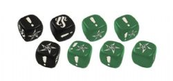 CTHULHU: DEATH MAY DIE -  FROST DICE -  KICKSTARTER EXCLUSIVE