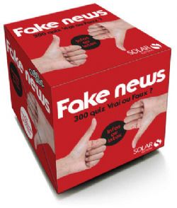 CUBOQUIZ -  FAKE NEWS - 200 QUIZ VRAI OU FAUX