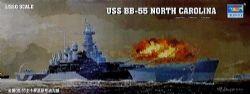 CUIRASSÉS -  USS BB-55 NORTH CAROLINA 1/350