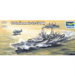 CUIRASSÉS -  USS INDIANAPOLIS CA-35 1944 1/350