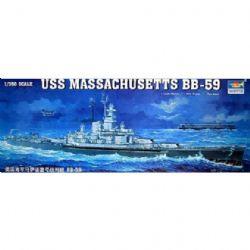 CUIRASSÉS -  USS MASSACHUSETTS BB-59 1/350