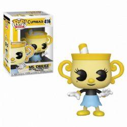 CUPHEAD -  FIGURINE POP! EN VINYLE DE MS. CHALICE (10 CM) 416
