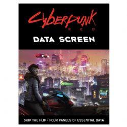 CYBERPUNK RED -  DATA SCREEN (ANGLAIS)