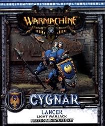 CYGNAR -  LANCER - LIGHT WARJACK (PLASTIC) -  WARMACHINE