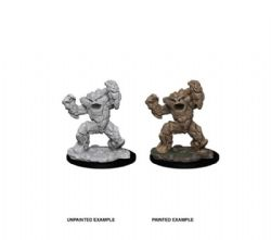 D&D MINIATURES -  EARTH ELEMENTAL -  D&D NOLZUR'S MARVELOUS UNPAINTED MINIATURES