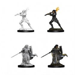 D&D MINIATURES -  FEMALE HUMAN PALADIN -  D&D NOLZUR'S MARVELOUS UNPAINTED MINIATURES