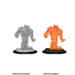 D&D MINIATURES -  FIRE ELEMENTAL -  D&D NOLZUR'S MARVELOUS UNPAINTED MINIATURES
