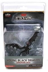 D&D MINIATURES -  YOUNG BLACK DRAGON EXPANSION PACK -  D&D ATTACK WING LE JEU DE FIGURINES
